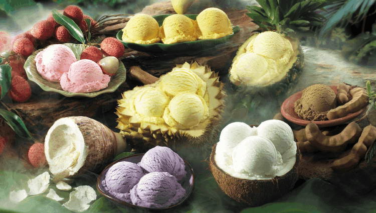 Cremo Ice Cream Tropical fruit ice cream