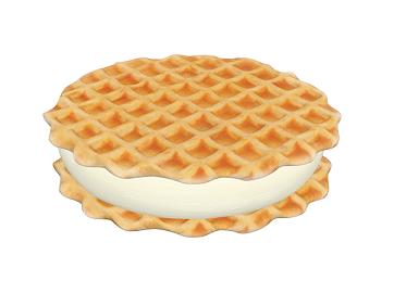 Ice Waffle Ice Cream