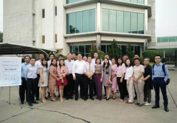 ยินดีต้อนรับคณะผู้บริหารจากบริษัท Inner Mongolia Yili Industrial Group เข้าร่วมประชุมกับคณะผู้บริหาร บริษัท จอมธนา จำกัด